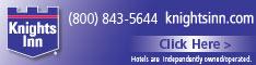 Knights Inn Hotels 234x60