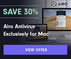 Save 30% on the Ultimate Mac Protection - Airo™ Antivirus for Mac