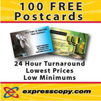 100 FREE Direct Mail Postcards - expresscopy.com