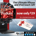 Podium Limited Time Offer!