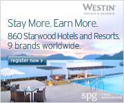 Starwood Preferred Guest Program through Westin