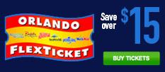 Save $15 on Orlando Flex Tickets!