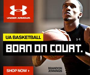 Born On Court. Shop UnderArmour Basketball Gear.
