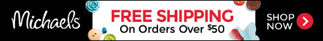 Free Shipping on $50+ at Michaels