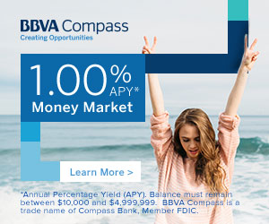 best online high yield savings accounts from BBVA