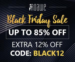 Roawe 85% Off on 2018 Black Friday Sale
