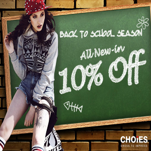 Choies Back-To-School sale