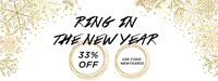 New Year Sale! 33% Off Plus Free Shipping! Use Promo Code NEWYEAR33 at checkout.