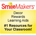 Offering classroom decor, rewards, and learning aids.