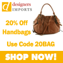 Take 20% Off All Handbags at DesignersImports.com