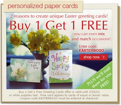 American Greetings Personalized Paper Cards