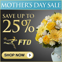 Up to 25% off Mothers Day (200x200)