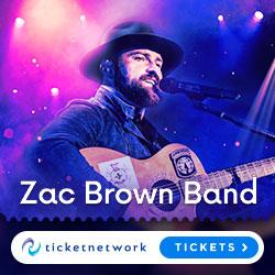Zac Brown biljetter