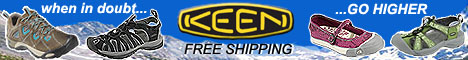 When in doubt, go higher..with KEEN. Free shipping