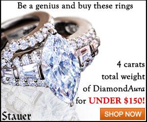 DiamondAura Matrimony Marquise Ring