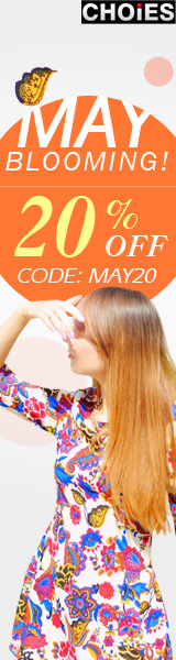 May Flower Fashion 20% Off
