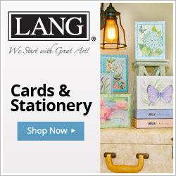 Share beautiful LANG Artwork on all of your cards, journals & more!