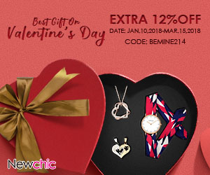 Extra 12% Off Jewelry Watch for Valentine's Day