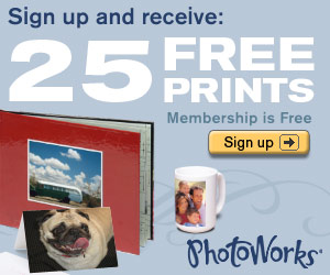 25 Free Prints with PhotoWorks