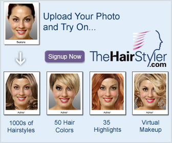 View Yourself in Over 8,000 Hairstyles!