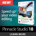 Pinnacle Studio Plus $20 off