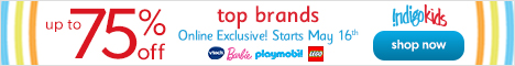 Up to 75% off Top Toy Brands!