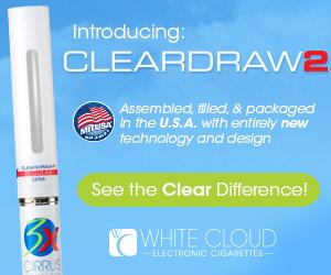 ClearDraw2 E-Cigarette Cartridges