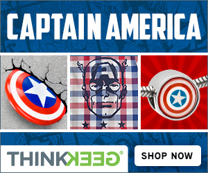 ThinkGeek Captain America Gifts