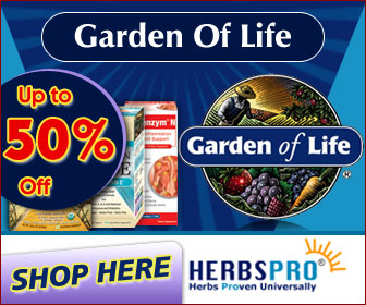 Garden of Life - Additional 5% Off