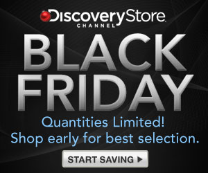 Discovery Channel Black Friday - up to 60% off!