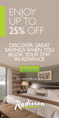 120x240 Advance Purchase Rate - Radisson