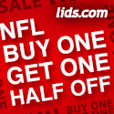 Lids Bogo Sale: Buy one Get 50% off Second Item