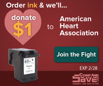 Shop at CompAndSave.com and support the American Heart Association!