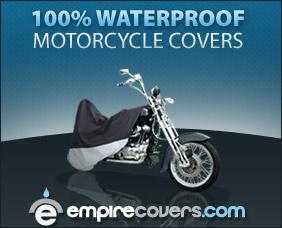 100% Waterproof Motorcycle Covers