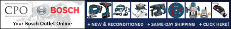 New and Reconditioned Bosch Tools @ CPO