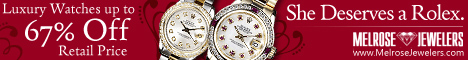 67% Off Rolex and Luxury Watches