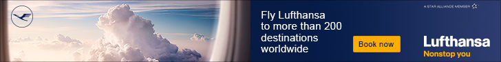 Book your flight on Lufthansa!