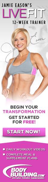 Live Fit Jamie Eason 12 Week Trainer 160x600