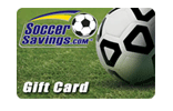 Soccer Savings Gift Card