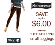Save up to $6 on NN Leggings & Free S&H