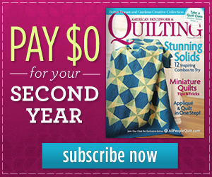 American Patchwork & Quilting (Print)