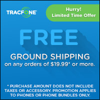 Tracfone - Free Ground Shipping