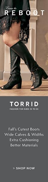 torrid fashions,boots