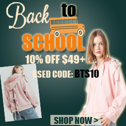 Back To School Sale --10% Off $49+,Code:BTS10