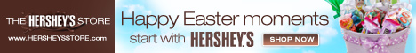 Happy Easter Moments Start With Hershey's!