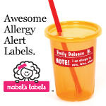 Mabel's Labels Allergy Alert Labels