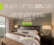 Advance Purchase Rate - Radisson