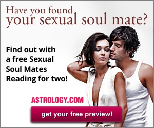 Free Sample Sexual Soul Mates Reading for two