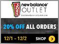 JoesNewBalanceOutlet.com Cyber Monday 2014 120x90