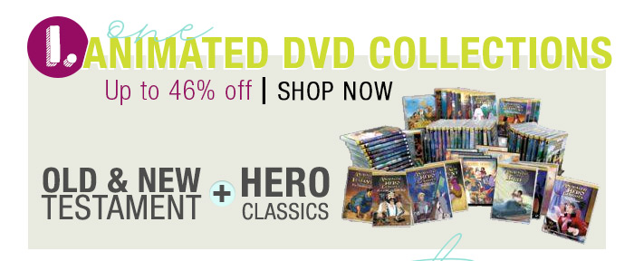 Animated DVD Collection ! 46% OFF